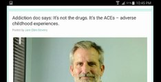 """Revolutionary! Drug-Addiction Doctor: Addiction is """"Normal"""" for Childhood Trauma, Vancouver, BC, Solution, Approach, Pre"""