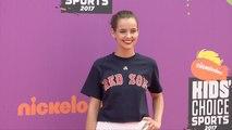 Maemae Renfrow 2017 Kids' Choice Sports Awards Orange Carpet