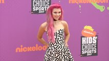 Jessie Paege 2017 Kids' Choice Sports Awards Orange Carpet