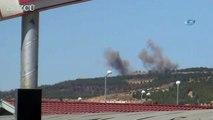 TSK Afrin'deki PYD mevzilerini vurdu