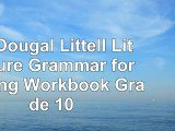 Read  McDougal Littell Literature Grammar for Writing Workbook Grade 10 9157f68c