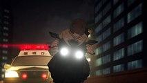Lisa and Twelve Bike Scene - Zankyou no Terror