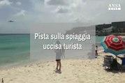 Pista sulla spiaggia, uccisa turista