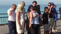 Nice: hommage aux victimes de la promenade des Anglais