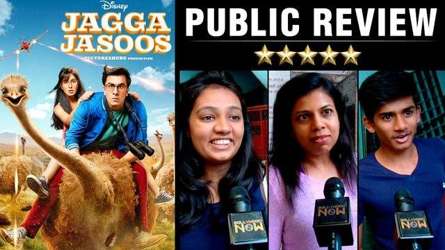 Jagga Jasoos Public Review | Ranbir Kapoor | Katrina Kaif | Anurag Basu