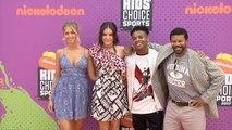Knight Squad Cast 2017 Kids' Choice Sports Awards Orange Carpet