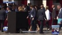 Commémorations à Nice: arrivée de François Hollande et Nicolas Sarkozy pour la cérémonie d'hommage