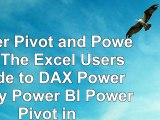 Read  Power Pivot and Power BI The Excel Users Guide to DAX Power Query Power BI  Power Pivot 32aeb6c1