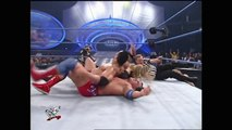 The Rock, Undertaker & Kane vs. Edge, Christian & Kurt Angle- SmackDown,