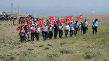 Fetö'nün Darbe Girişiminde Şehit Düşenler Için Süphan Dağı'na Yürüyüş Düzenlendi