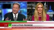 Ann Coulter discusses how Trump could ruin presidency with Ed Schultz