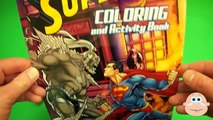 Homme chauve-souris Oeuf géant mouvement ouverture jouer arrêter contre Doh surprise superman animation