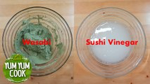 How to Make Sushi Vinegar & Wasabi for Sushi at Home   YumYumCook
