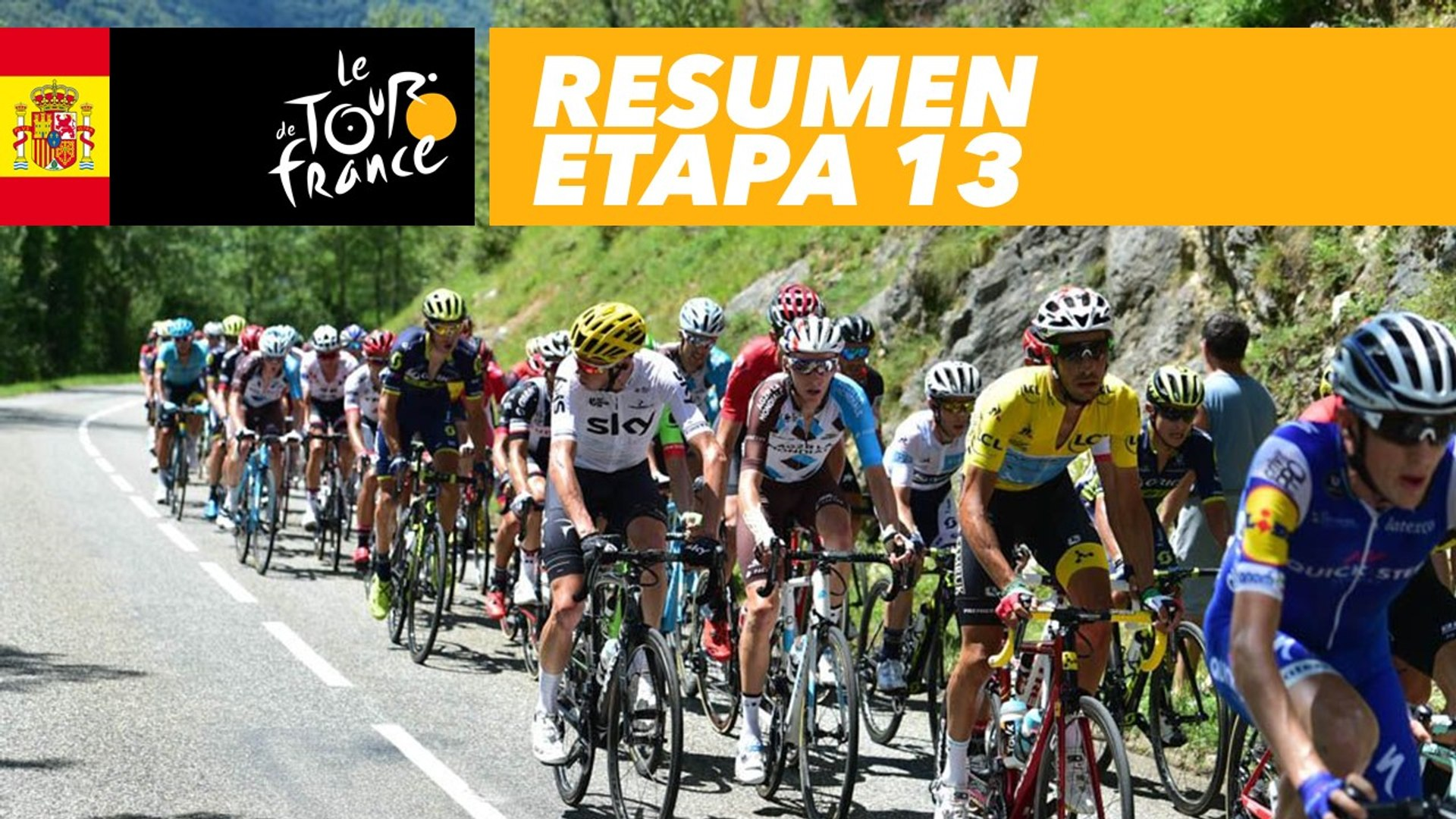 Resumen Etapa 13 Tour De France 2017 Vidéo Dailymotion