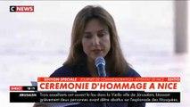 Attentat de Nice : Elsa Zylberstein craque en lisant un texte rendant hommage aux victimes