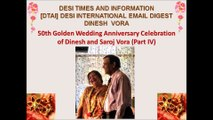 50th Golden Wedding Anniversary Dinesh & Saroj #4