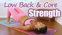 Low Back & Core Strength Yoga with Sanela, Belly Fat, Obliques, Tone Tummy, Beginners Class