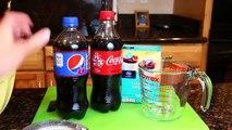 Gummy Soda Coke and Pepsi ❤ How to Make Coca Cola & Pepsi Gummy Soda Candy Bottles Fun DIY