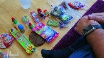Bonbons défi mexicain essais au feu des bonbons mexicains