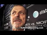 Anselmo Moreno on fighting Abner Mares says he is all business