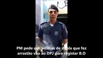 PM faz alerta para vítimas de roubo na Serra