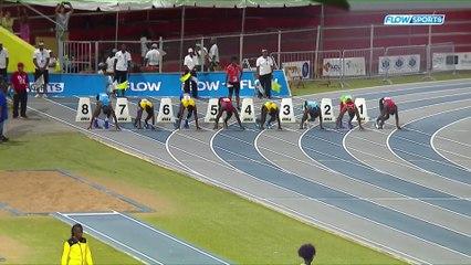 2017 CARIFTA GAMES - Boys Under-18 100m--Adell Colthrust