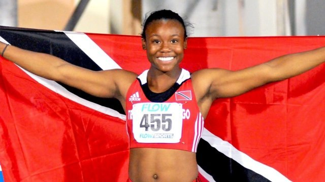 2017 CARIFTA GAMES - Girls Under-20 100m --Khalifa St. Fort
