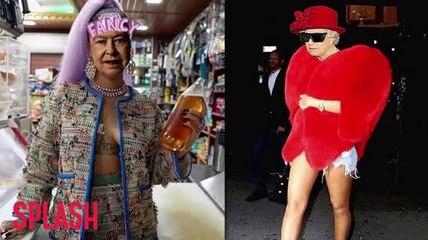 Rihanna usa Photoshop para interponer la Reina Elizabeth en su propio cuerpo