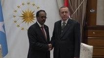 Cumhurbaşkanı Erdoğan Somali Cumhurbaşkanı Mohamed Abdullahi Farmajo ile Görüştü