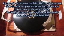 Les Compagnons de la chanson et Edith Piaf - C'est pour ca (78t Je disque je veux)