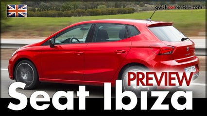 Seat Ibiza Sneak Preview Clip Before our Review & Driving Report | Car | English