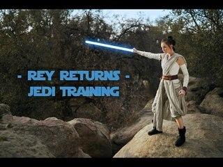 REY RETURNS - Jedi training