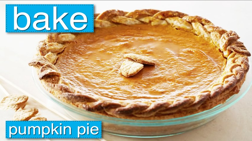 Bake - Pumpkin Pie
