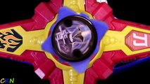 Power Rangers Super Ninja Steel Cycle with Red Ranger