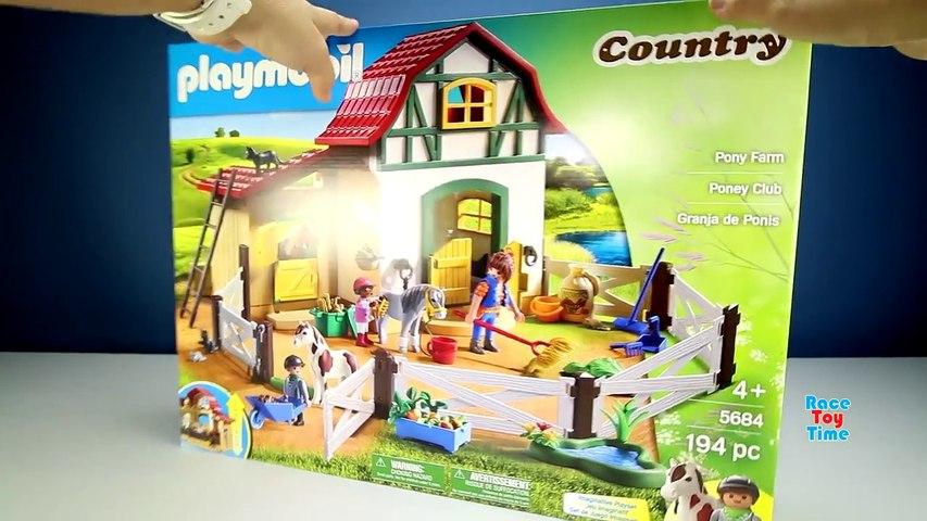 Playmobil Country Pony Farm Animals Building Set Toy Bui