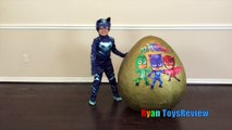 PJ MASKS GIANT EGG SURPRISE Toys for Kids Disney Toys Catboy Gekko Owlette PJ Masks IRL Super
