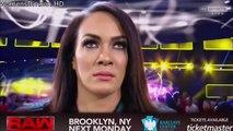 WWE RAW 03-13-17 Bayley vs Nia Jax