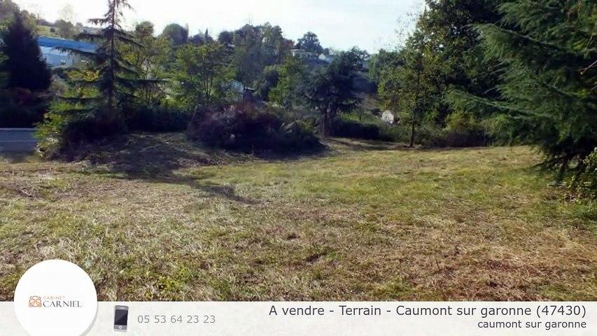 A vendre - Terrain - Caumont sur garonne (47430)