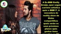 Hein? Ex-BBB Emilly Araújo quer fazer parceria com Luan Santana. E resposta é surpriendente.