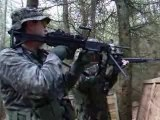 Airsoft in Scotland 2007 A&K M249 JG M14 M203 Grenade