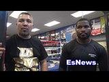 Felix Diaz vs Crawford in camp with diaz EsNews Boxing
