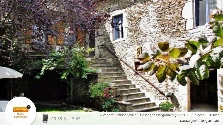 A vendre - Maison/villa - Cassagnes begonhes (12120) - 5 pièces - 184m²