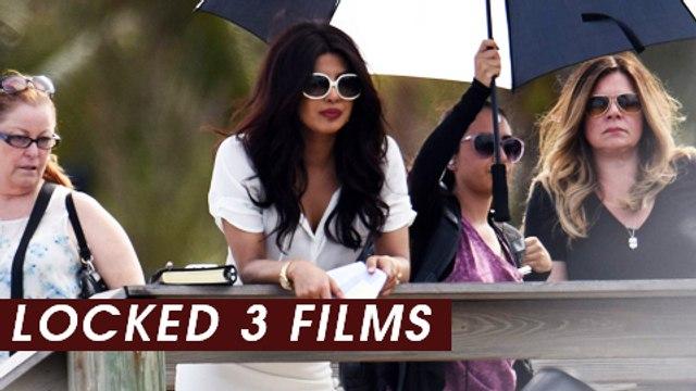 Priyanka Chopra REVELATION : Signs 3 Films | Reveals Details At Baywatch India Press Conference