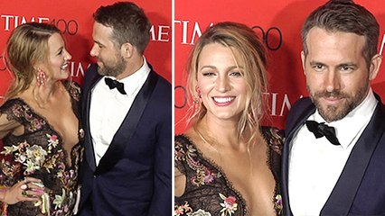 Ryan Reynolds & Blake Lively Loved Up At The TIME 100 Gala 2017