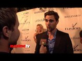 """Nick Uhas Interview at Unlikely Heroes """"Justice Ball"""" Red Carpet Arrivals"""