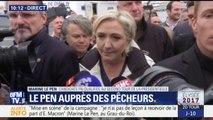 """""""Ce n'était pas des militants FN hier."""" Marine Le Pen répond sur la critique d'une mise en scène à Whirlpool"""