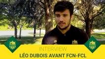 Léo Dubois avant FCN-FCL