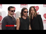 30 Seconds to Mars iHeartRadio Music Festival 2013 - Jared Leto Shannon Leto Tomo Miličević