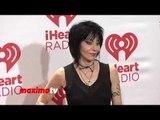 Joan Jett on Mylie Cyrus iHeartRadio Music Festival 2013