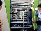 PET preform injection machine producing 4 cavities 5 gallon bucket`s preform